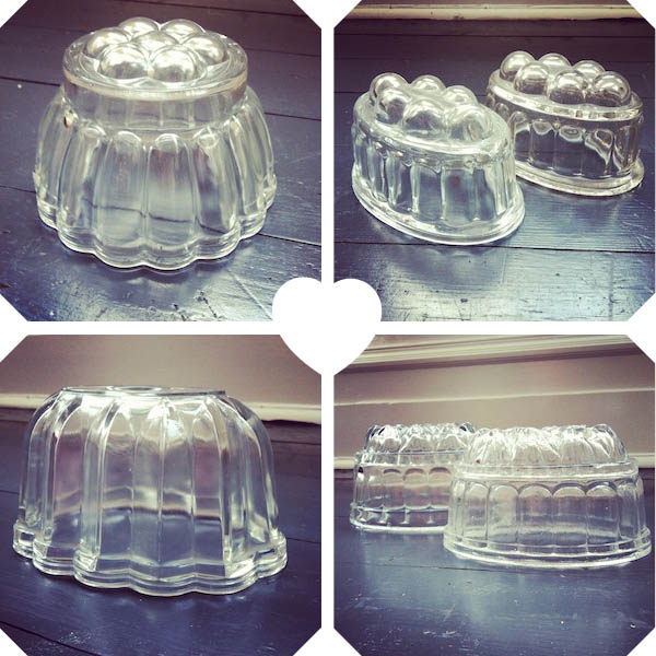 jelly moulds cp Wibble wobble... how to make vintage jelly in glass moulds