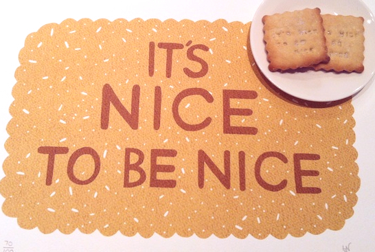 Zoe Conversation Piece Nice Biscuits Its nice to be nice biscuits (and other nice things)