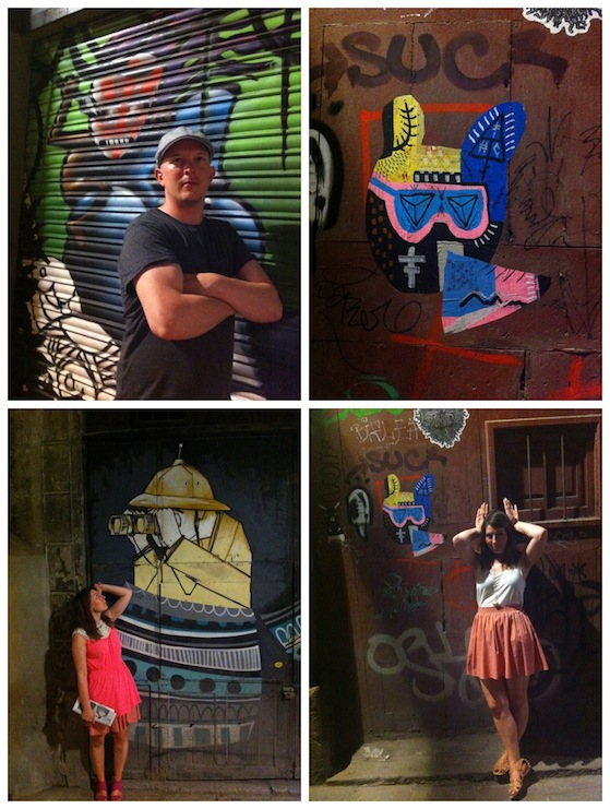 Zoe Conversation Pieces Barcelona Street Art 2 Sun, street art and celebrating in Barcelona
