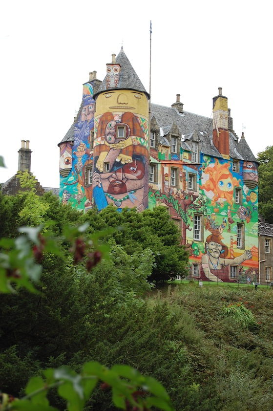 conversation pieces kelburn castle 2 A rather cool day trip... to Scotlands graffiti castle