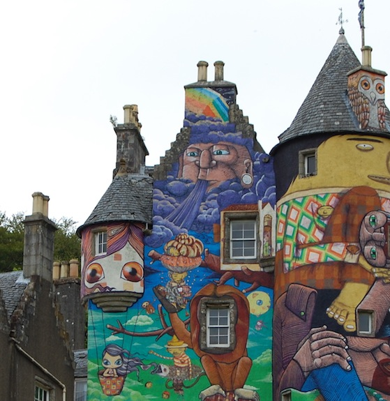 conversation pieces - kelburn castle 3