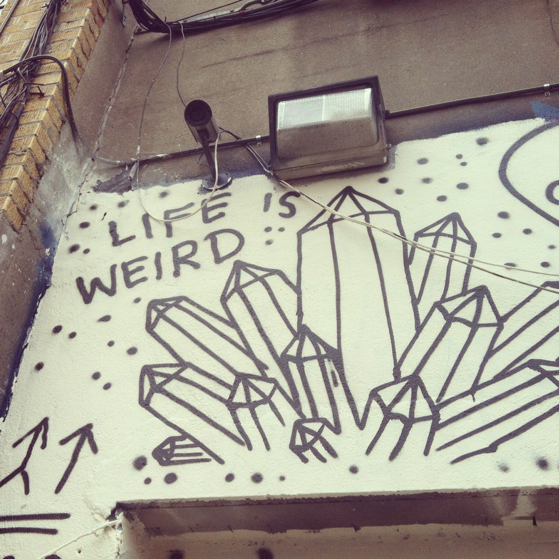 Life Is Weird NY Conversation Pieces Blog.jpg A trip to New York... or the holiday and the hurricane