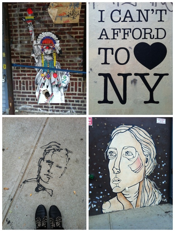 Street Art Brooklyn Conversation Pieces Blog1 A trip to New York... or the holiday and the hurricane