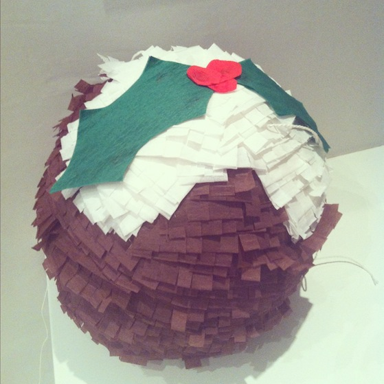 photo 21 Christmas pudding pinata and other crafty projects by me that are in an actual book!