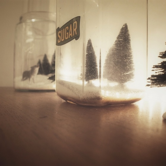 photo 34 Christmas is coming... my tiny terrariums and giant paper snow balls