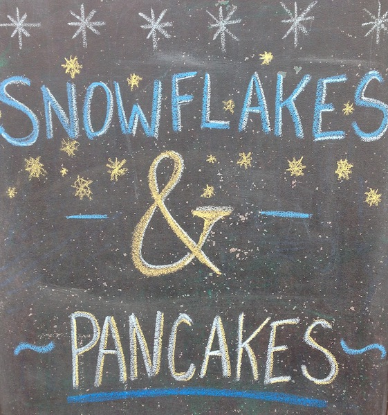 Snowflakes and pancakes - Convo_Pieces