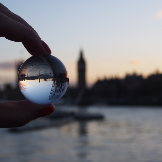 Big Ben – London Marble – @Convo Pieces London reflections... one big city, one little marble
