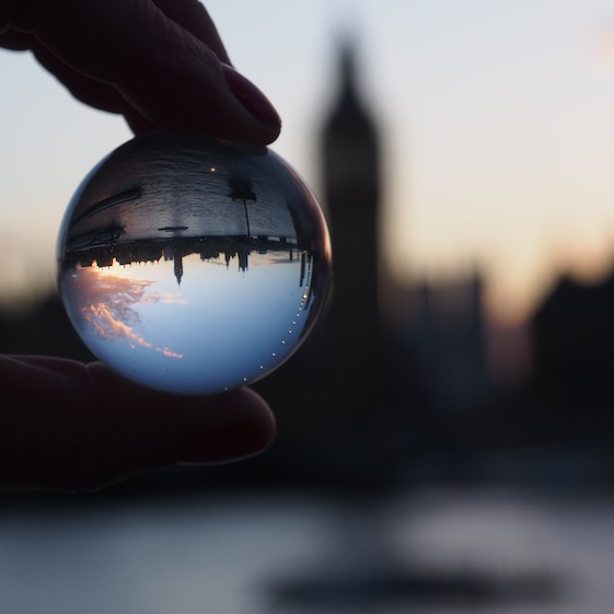 Big Ben 2– London Marble – @Convo Pieces London reflections... one big city, one little marble