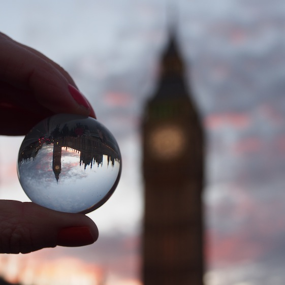 Big Ben 3 – London Marble – @Convo Pieces London reflections... one big city, one little marble