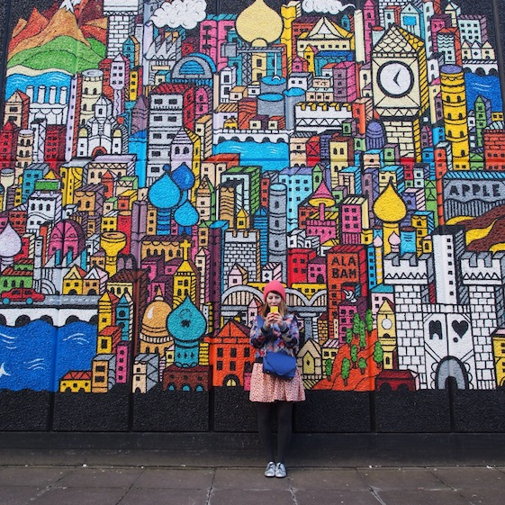 Colourful London - @Convo_Pieces