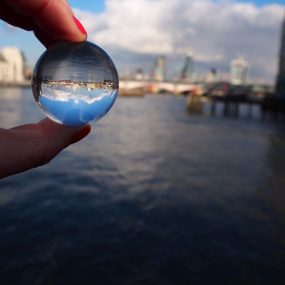 London Skyline – London Marble – @Convo Pieces London reflections... one big city, one little marble