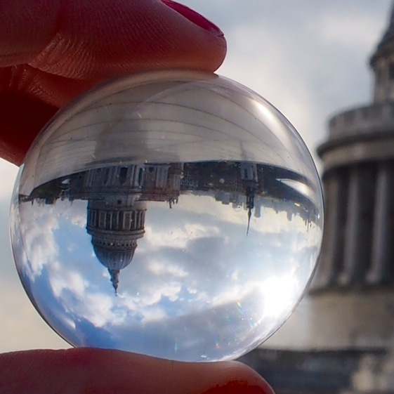 St Pauls – London Marble – @Convo Pieces London reflections... one big city, one little marble
