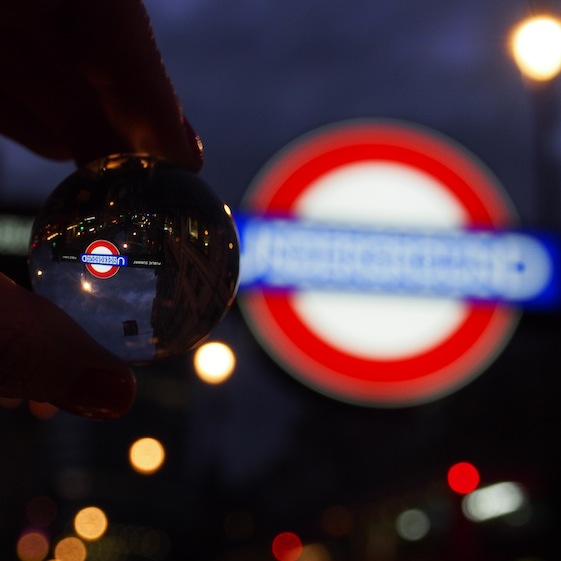 Underground – London Marble – @Convo Pieces London reflections... one big city, one little marble