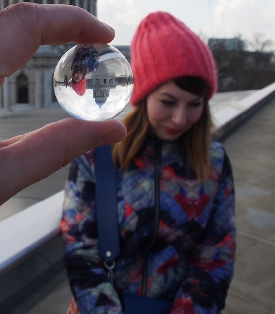 Zoe – London Marble – @Convo Pieces London reflections... one big city, one little marble