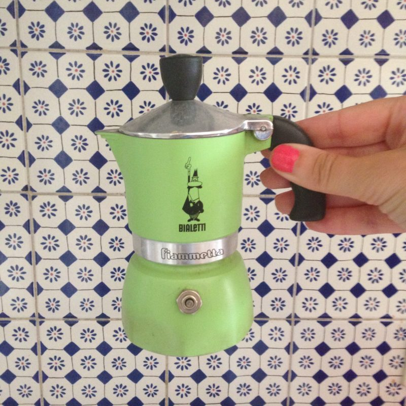 Soft green Bialetti espresso maker – Conversation Pieces Blog
