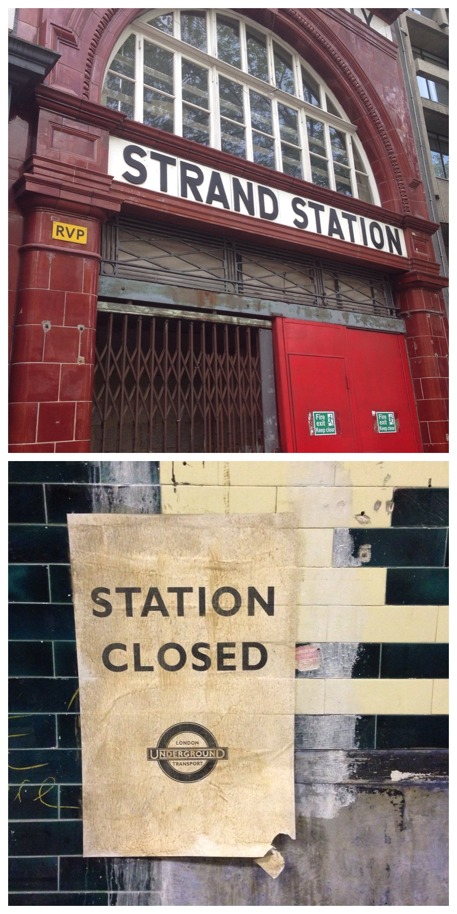 Visit the abandoned tube station Aldwych