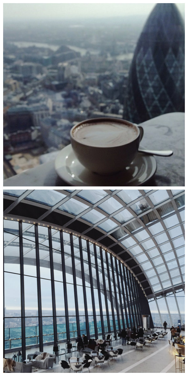 Breakfast at the Duck & Waffle and The Sky Pod