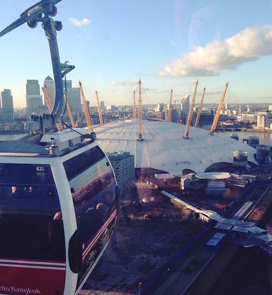 Take a trip on the Emirates Air Line in London