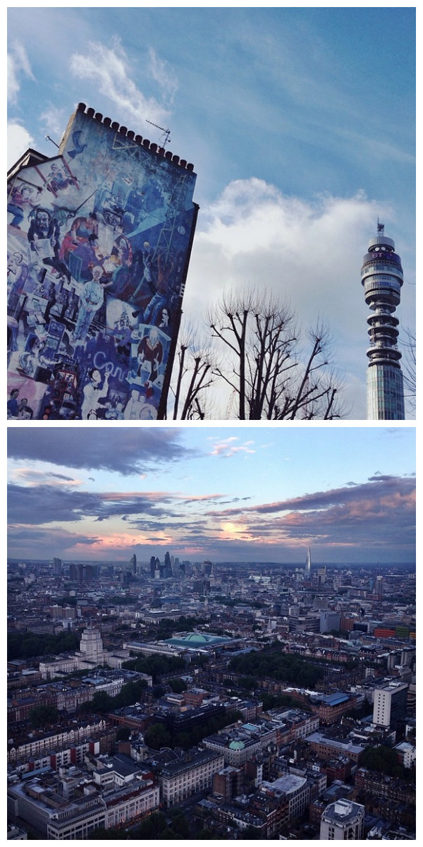 Take a trip up BT Tower