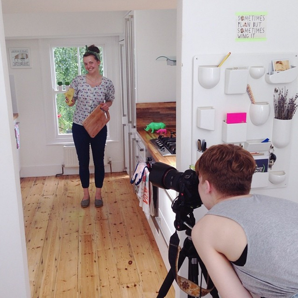 What it's really like to do a photo shoot at your flat