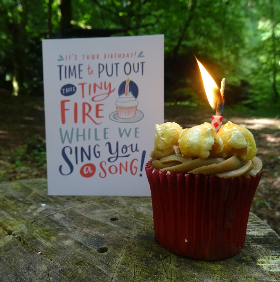 Time to put out this tiny fire while we sing you a song | Conversation Pieces