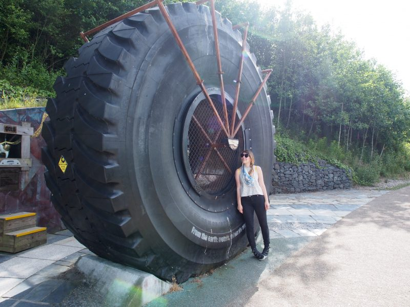 Road side attraction at the Eden Project in Cornwall | Conversation Pieces