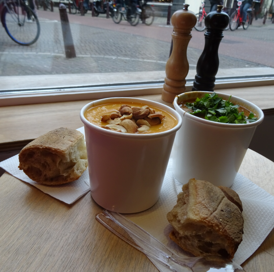 Eating vegan in Amsterdam