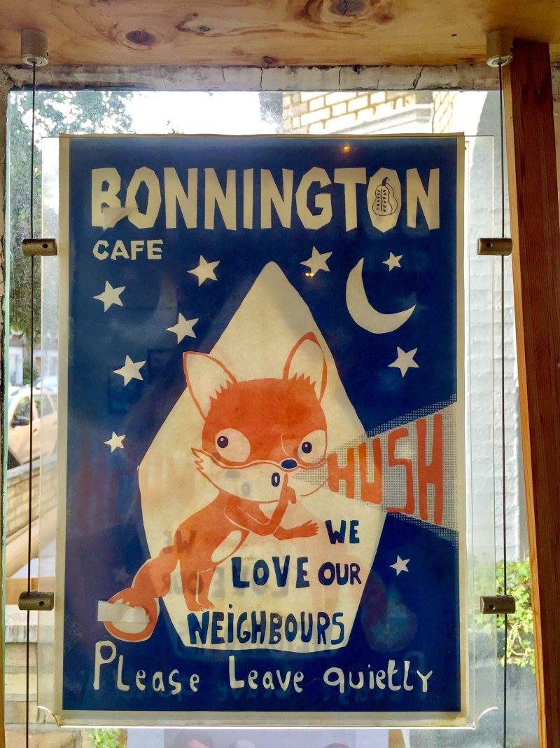 Bonnington Cafe – vegan cafe in London