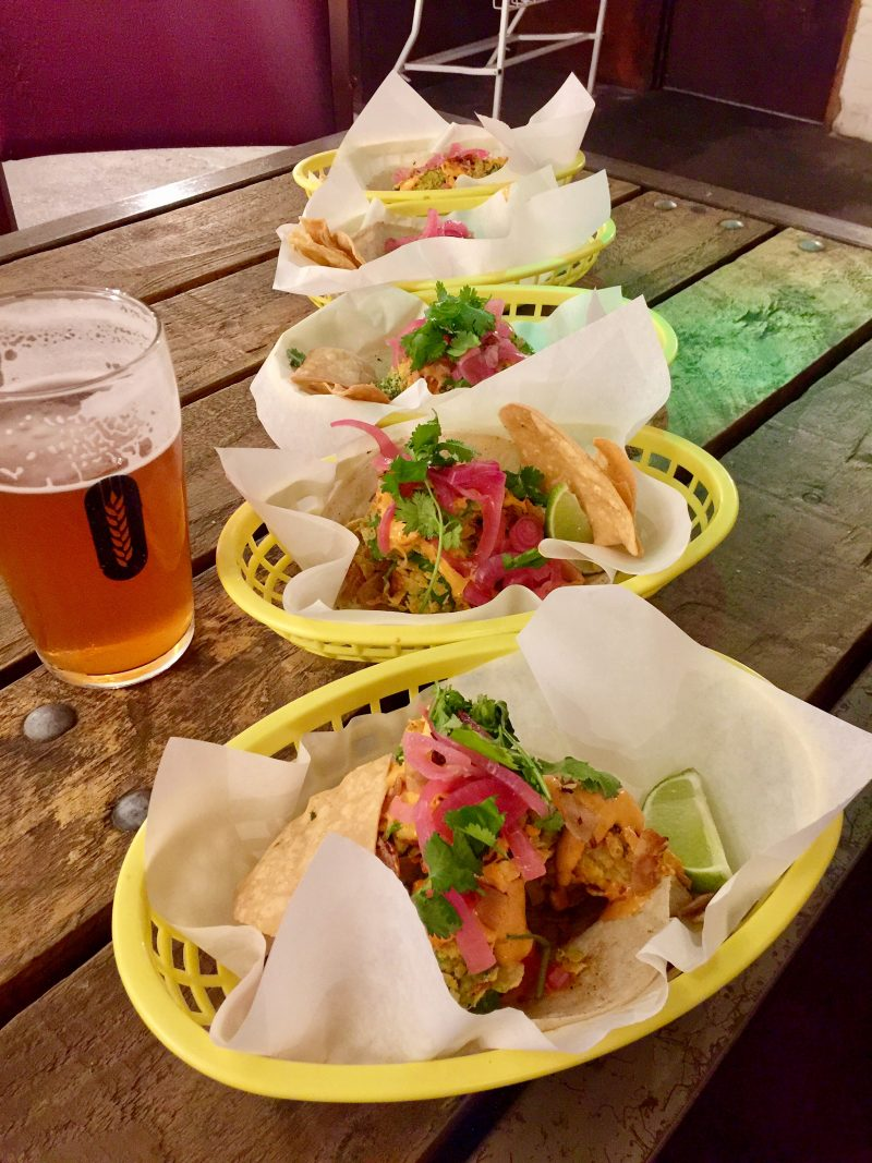 Taco Queen vegan tacos in Peckham London