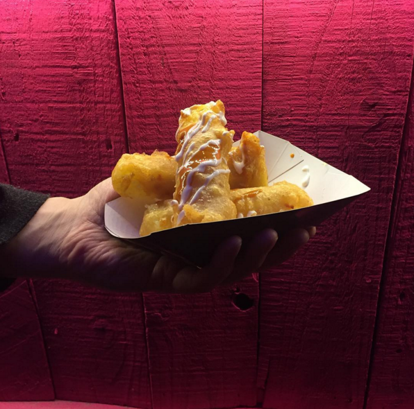 Club Mexican cheeze fries – vegan London eats